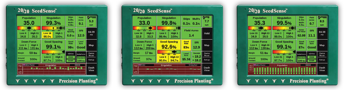 The SeedSense 20/20 monitor
