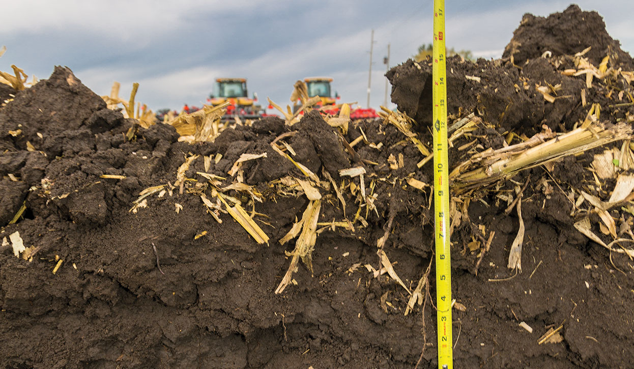 Compaction can be a serious problem in a field, but determining where the worst spots of compaction in a field isn't that hard to do with your eyes.