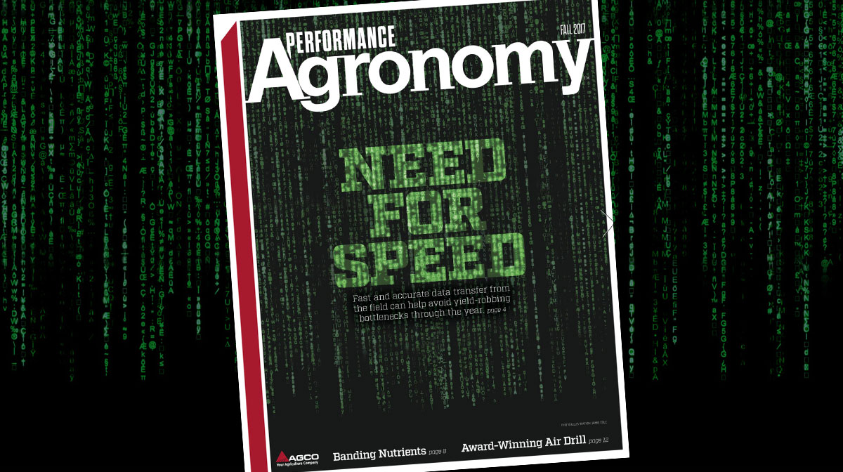 Performance Agronomy - Fall 2017