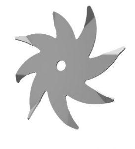 Rotary Spider Tines