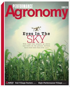 Summer 2017 Performance Agronomy Cover