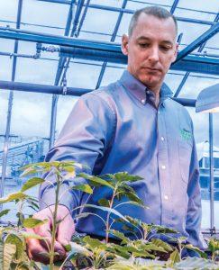 Weed Specialist Kevin Bradley